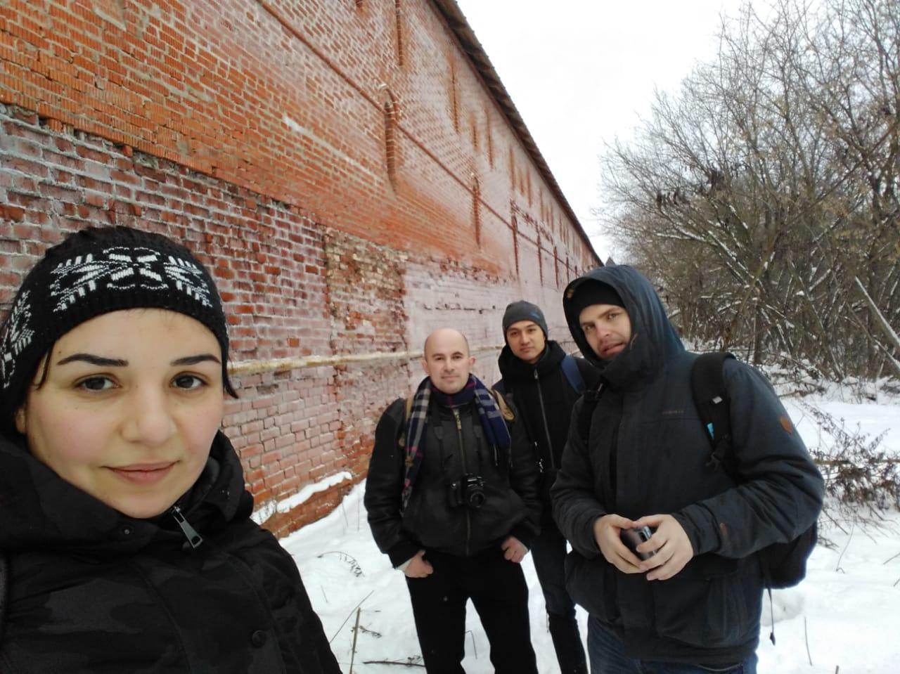 Старинный город Серпухов. Владычный монастырь, заброшенный храм и улочки с деревянными домами