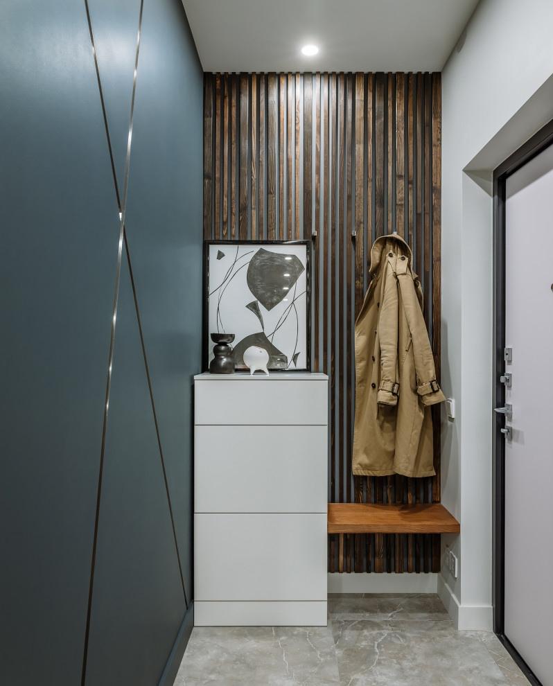 Интерьер квартиры открытой планировки 40 кв.
