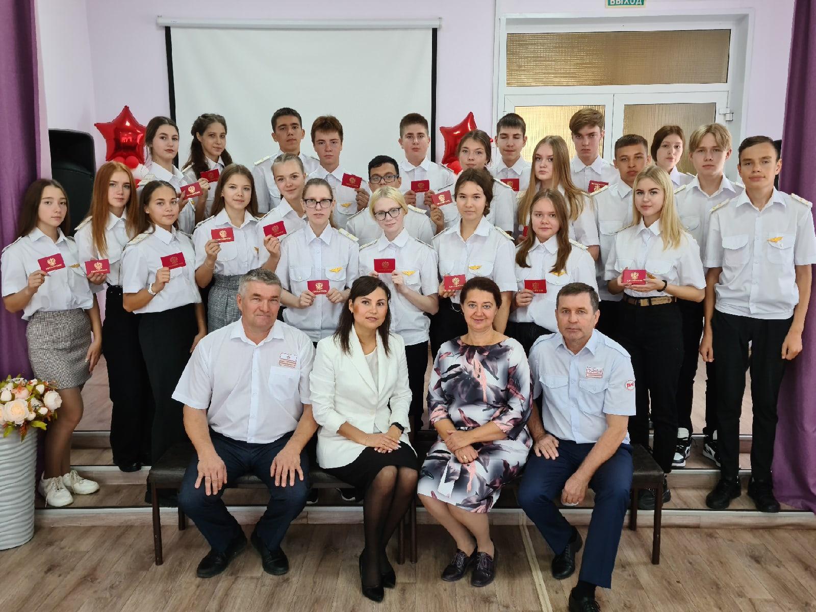 Торжественное открытие 10 РЖД-класса состоялось в школе № 4 🎉