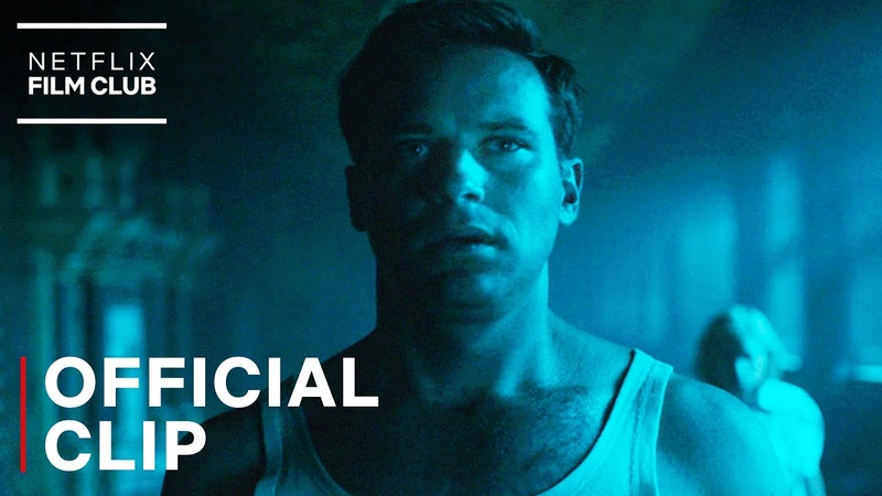 Rebecca Lily James Armie Hammer Sleepwalking Scene Netflix