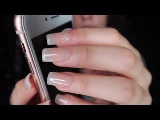 [ASMR] Tapping With Long Nails ~ (No Talking) 🌙