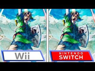 Zelda: Skyward Sword HD | Switch VS Wii | Final Graphics & Gameplay Features Comparison