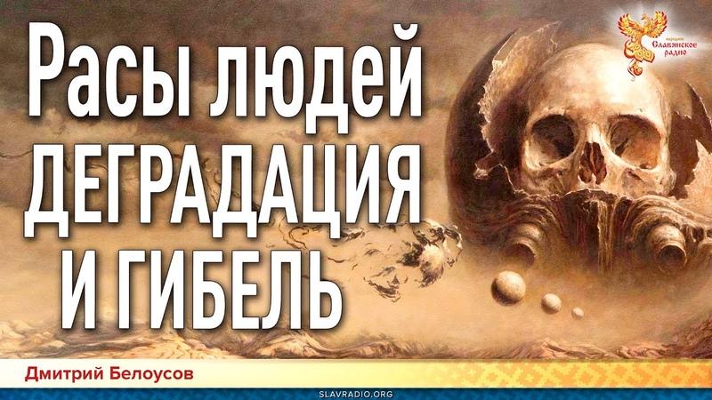 Дмитрий Белоусов Расы людей Деградация и гибель