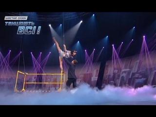 Владимир Раков и Елена Головань - Модерн - Второй прямой эфир - Танцуют все 6 -