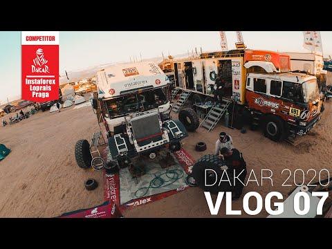 InstaForex Loprais Team DAKAR 2020 Stage 3 VLOG 07