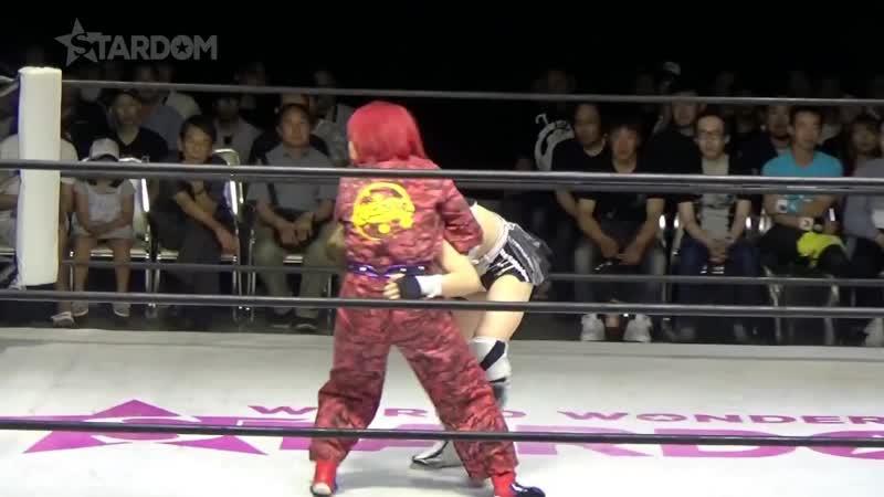 Oedo Tai Andras Miyagi Natsuko Tora vs Starlight Kid Tam Nakano