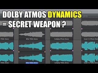 Dolby Atmos Dynamics - immersive audio's secret weapon ?