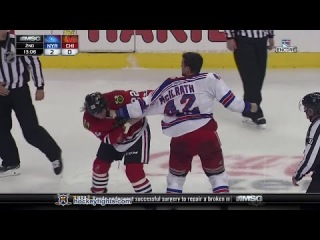 Dylan McIlrath vs Pierre-Cedric Labrie Sep 26, 2014