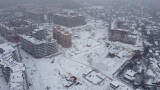 """Облет со стороны дороги ЖК """"Видный город"""" д.16 к.2 от"""