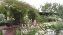Walk through the White Garden of Sissinghurst Castle