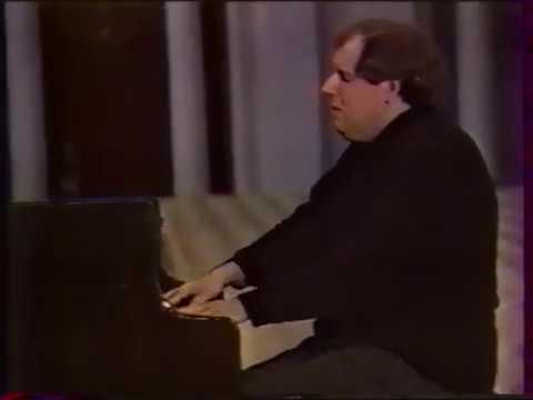 Григорий Соколов. Бах - Органная хоральная прелюдия фа минор BWV 639, Прелюдия ми минор BWV 855a