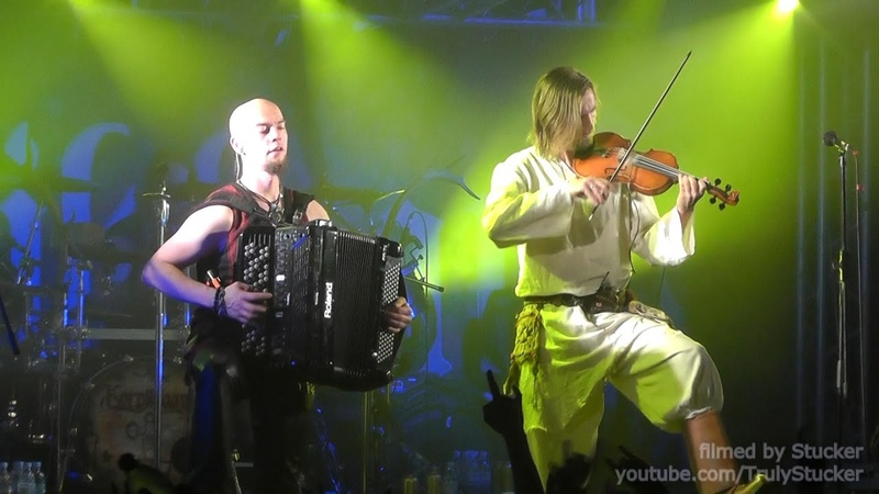 Korpiklaani - Pellonpekko (Live in St.Petersburg, Russia, 03.04.2015) FULL HD