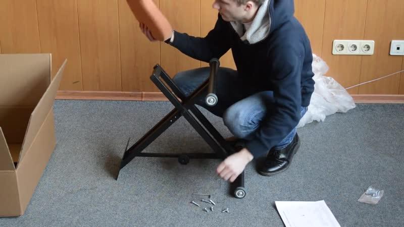 Сборка коленного стула Олимп СК 1