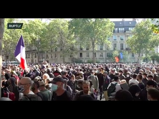 LIVE: Yellow Vests call for national protest in Paris amid coronavirus measures - PART 2