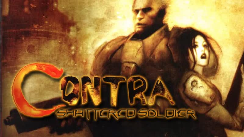 PS2 игры[серия4]обзор игры Contra shattered soldier на playstation 2