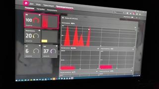 Скачки загрузки ГП до 100% в простое   RX 570Мерцание экрана   AMD SOFTWARE ADRENALINE   Артефакты