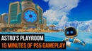 Astro's Playroom on PLAYSTATION 5 - 15 minutes of PS5 footage