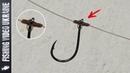 КАК ПРИВЯЗАТЬ БОКОВОЙ КРЮЧОК БЕЗ ПОВОДКА FishingVideoUkraine