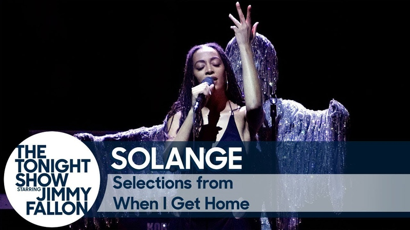 Solange Gives an Epic Mini-Concert with When I Get Home Album Medley