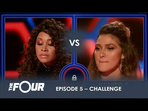 Evvie vs Kendyle The Most UNEXPECTED Battle Of The Night S1E5 The Four