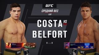 VBL 42 Middleweight Grand-Prix Vitor Belfort vs Paulo Costa