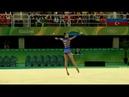 Ganna RIZATDINOVA (UKR) Clubs All Around Final 2016 Rio Olympics