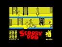 Scooby-Doo 1986 / 128k AY Music Version Walkthrough, ZX Spectrum