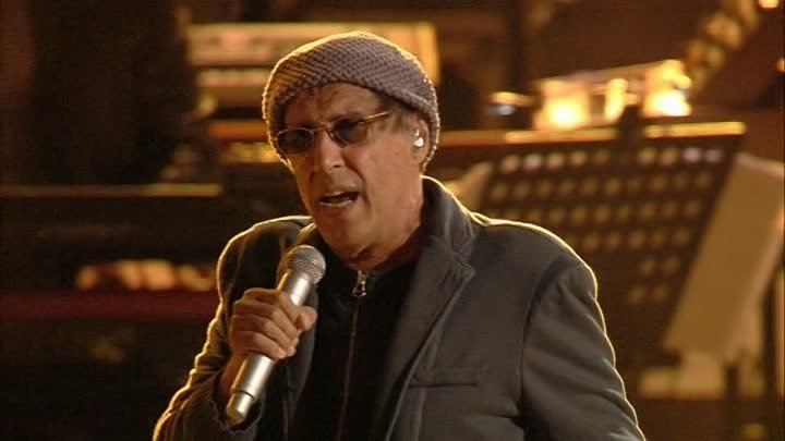 Адриано Челентано. Концерт в Вероне.