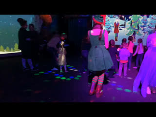 Новый год в интерактивном парке Футурамия