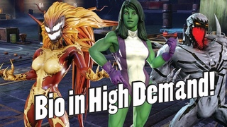 Anti-Venom, Scream and She-Hulk Kits and Discussion! Who to Invest In?!- Marvel Strike Force