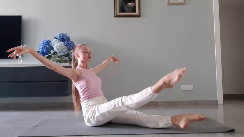 Как растягиваются балерины Растяжка балерины Фитнес дома