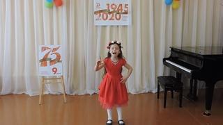 Закирова Айсылу, с.Кандры, «Солист» (эстрадный вокал), 6-9 лет, Русская красавица