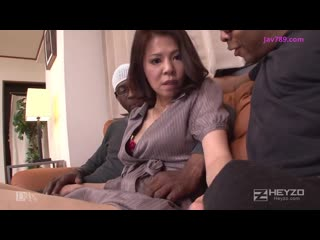 Japanese Wife Black Gangbang