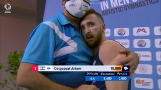 Artem DOLGOPYAT (ISR) - 2020 European Champion, floor
