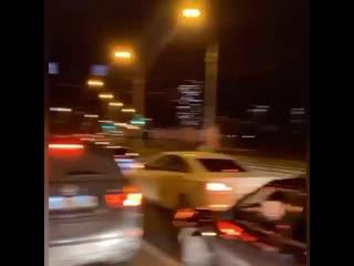 В Перми полиция задержала машины с флагами Азербайджана