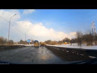 Ямочный ремонт дороги, г. Волгодонск, Жуковское шоссе ()