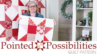 FREE Quilt Pattern: Pointed Possibilities   Fat Quarter Shop