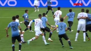 Уругвай   Португалия  Обзор матча 1 8 финала