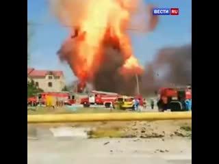 В Шымкенте прогремел мощный взрыв