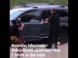 Jacob Blake SHOT by police officers while entering his vehicle |Warning very Graphic