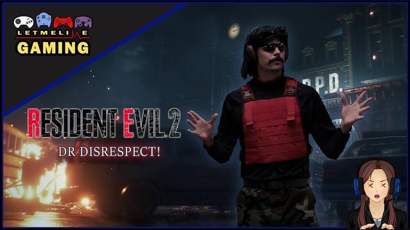 DR Disrespect in Resident Evil 2 Remake mod!!