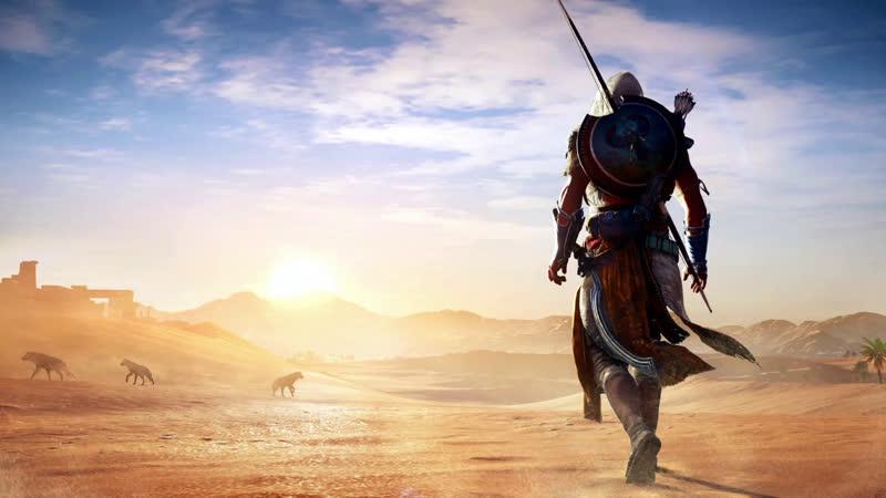 100 прохождение на 100% Assassin's Creed Истоки 2017 PC
