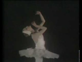 Natalia Makarova performing 'The Dying Swan' by Camille Saint-Saens