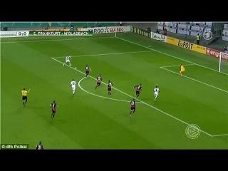 Thorgan Hazard brilliant goal for Borussia Mönchengladbach