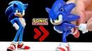 SONIC the Hedgehog and Dr Eggman Robotnik Diorama Clay Art