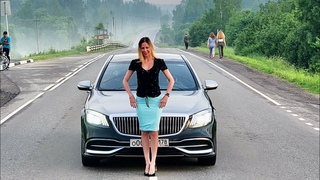 Mercedes Maybach из такси. Это вам не новый Volkswagen Polo.