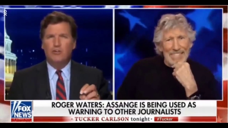 Roger Waters speaks to Tucker about the persecution of Julian Assange