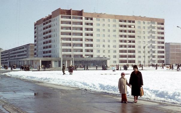 Белый дом в Припяти