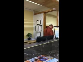 This racist manager of this hotel