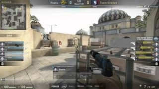 NBK vs flusha Knife Fight | ESL One Cologne 2015